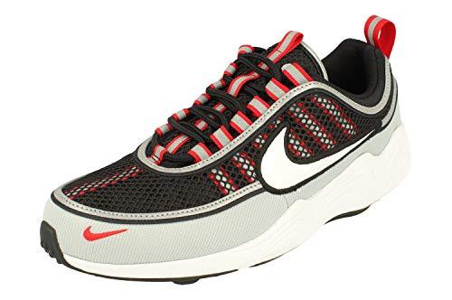 Nike Air Zoom Spiridon '16, Scarpe da Ginnastica Basse Uomo, Multicolore (Black/White/Wolf Grey/University Red 001), 41 EU