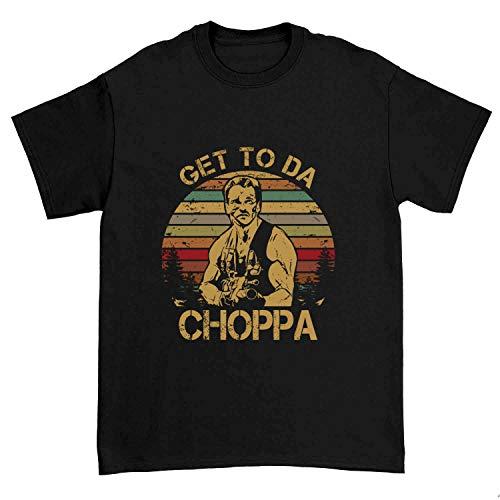 Get to Da Choppa Sunset Graphic T-shirt, many colors, sizes