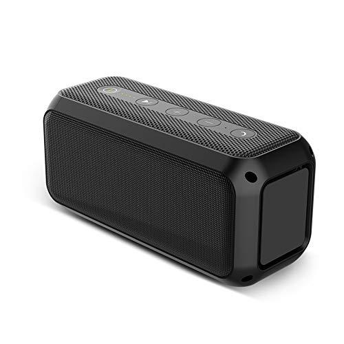 Altavoz Bluetooth inalámbrico de masaje con potencia de 20 W, altavoz Bluetooth V5.0, resistente al agua, tiempo de juego de 24 horas, alcance de 20 metros