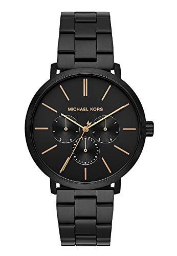Michael Kors Herenhorloge analoog kwarts horloge met roestvrij stalen armband MK8703