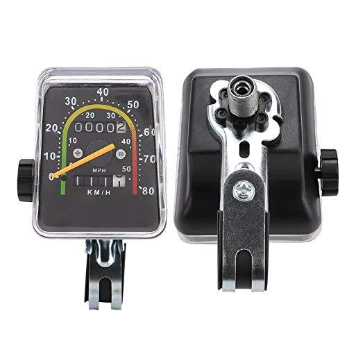 awstroe Bike Computer, Mechanical Bike Speedometer, Durable Mountain Bike Tricycle Bicycle for Bike