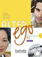 ALTER EGO-1/LIVRE+CD AUDIO ELEVE