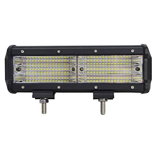 Willpower LED-lichtbalk, 2 stuks, 135 W, 10 cm, werklamp, 9D, combinatie van schijnwerper, 12 V, 24 V, 6000 K, LED-koplampen, IP67, waterdicht, voor auto, 4 x 4, tractor, paden, boot, ATV, UTV, SUV, 4WD 9