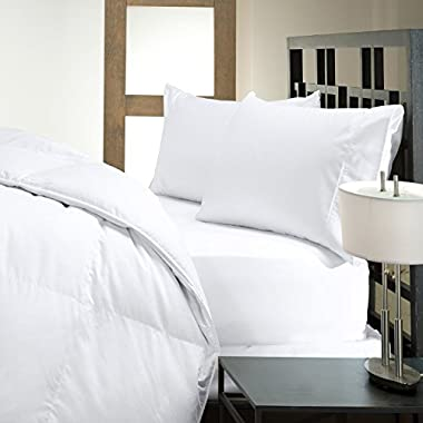 Closeout Sale - Hotel Like Luxury Bedding Collection - Luxury Hypoallergenic 50/50 Down and Feather Pillow (Standard)