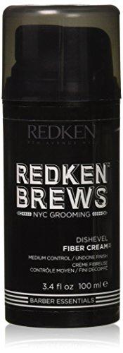 Redken Brews Fiber Cream, 3.4 Fluid Ounce