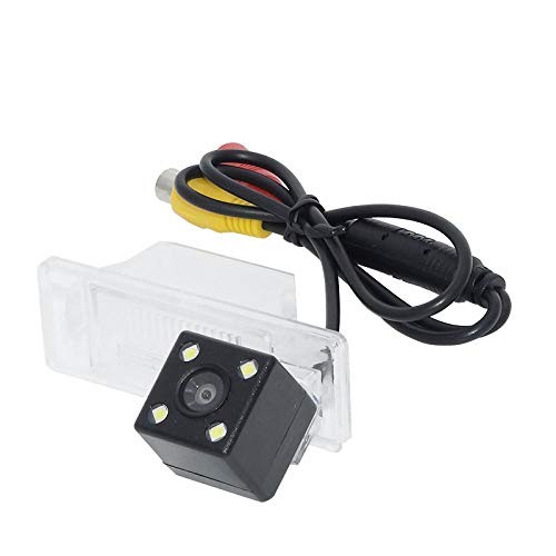 QWERQF Telecamera di parcheggio retromarcia per retrovisione HD per Auto con la Migliore Visione Diurna e Notturna,per Nissan Qashqai/X-Trail 2008-2012