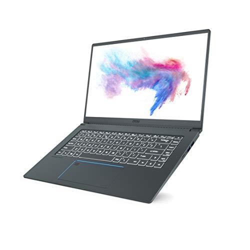 MSI Prestige 15 A10SC-091IN Intel Core i7-10710U 10th Gen 15.6-inch Laptop(16GB/1TB NVMe SSD/Windows 10 Home/GTX 1650 Max-Q, 4GB Graphics/Grey/1.6Kg )9S7-16S311-091