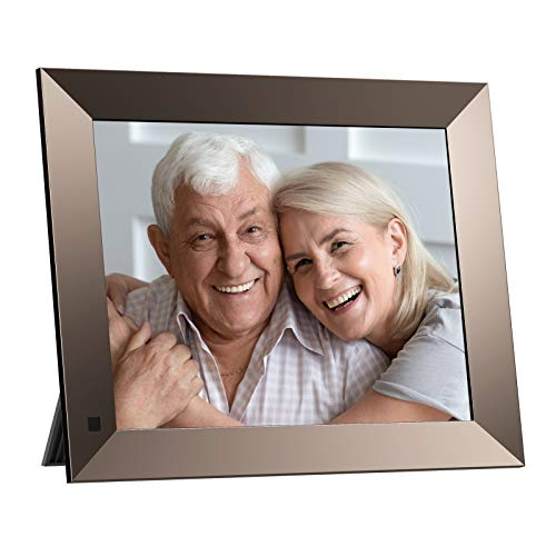 Dragon Touch 10 Inch WiFi Digital Picture Frame,Adjustable Magnetic Stand,IPS Touch Screen HD Display,16GB Storage,Motion Sensor,Auto-Rotate,Share Photos and Video via App and E-mail(Classic 10 Elite)