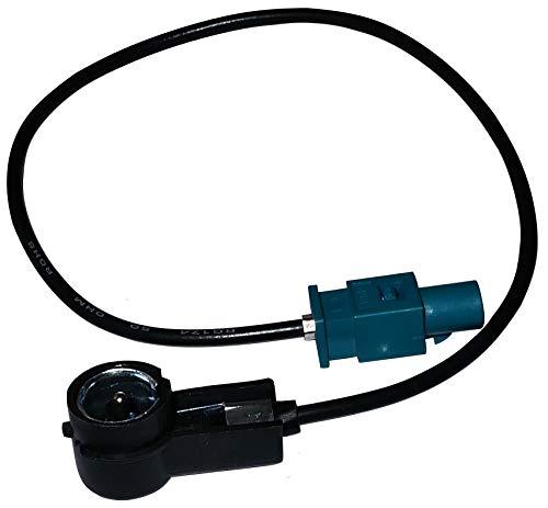 AERZETIX: Adaptateur pour antenne Auto autoradio FAKRA ISO mâle - C1443