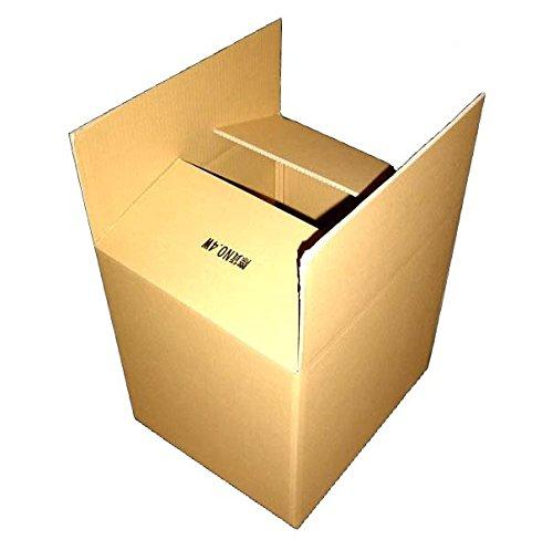 140サイズ ダブルダンボールケース4W×1枚 480mm×400mm×450mm 7mm厚 海外発送や重梱包に最適です