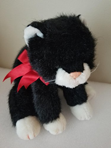 TY Classic Beanie Buddy Plush Boots the Black and White Cat