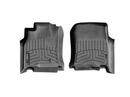 WeatherTech Custom Fit Front FloorLiner for Toyota 4Runner (Black)