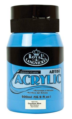 Royal & Langnickel RAA-5143 Essentials - Colore Acrilico, 500 ml, Blu Ciliegia
