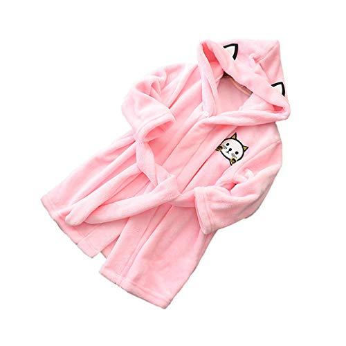 Btruely Overall Baby Baby Born Kleidung Set Baby Kleidung Schneeanzug babyKinder Baby Jungen MäDchen Feste Kapuze Flanell BademäNtel Pyjamas Nachthemd NachtwäSche