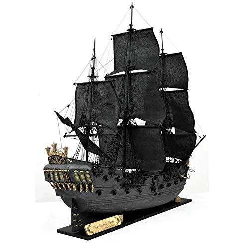 Kits De Modelos De Barcos Para Construir Para Adultos, 31 Pulgadas, Modelo De Madera De Perla Negra-Modelo De Barco Black Pearl 2021