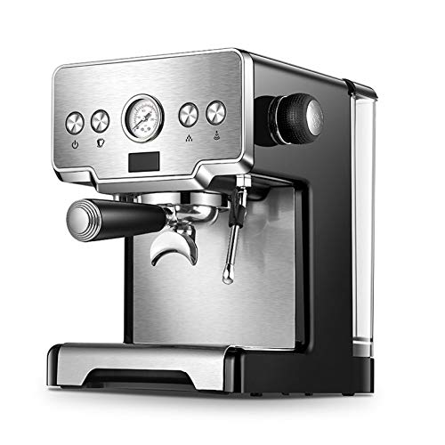 CTDMMJ Cafetera Comercial Cafetera Espresso de 15 Barras con máquina de café semiautomática Bubble Milk