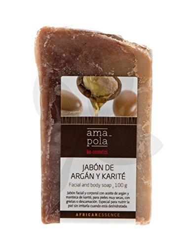 Jabón de argán y karité Amapola 100g