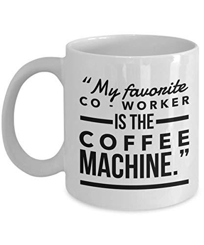 Barista Taza de café – Baristas Espresso Expresso doble tazas de té para hombres y mujeres mejor amigas colegas compañeros de trabajo esposa marido hermano Navidad