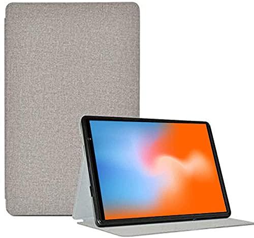 YHFZR Funda Carcasa para LNMBBS L20 Tablet 10 Pulgada, Slim Smart Carcasa Protectora con Soporte Función Cover Case para LNMBBS L20 Tablet 10 Pulgada, Gris