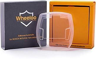 Wheeloo Silicone Beschermhoes E-Bike Display met USB-aansluiting Bosch Intuvia Bedieningseenheid Cover - Doorzichtig &...