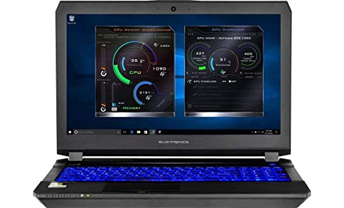 Eluktronics P650HP6 15.6' FHD 1080p IPS Graphic Design Laptop PC - Intel i7-7700HQ Quad Core Windows 10 Home 6GB GDDR5 NVIDIA GeForce GTX 1060 VR Ready 256GB SSD + 1TB HDD 16GB DDR4 RAM