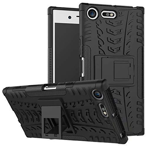 Smfu Funda Compatible Sony Xperia XZ Premium Carcasa Rugged Híbrido Resistente Absorción...