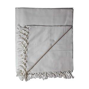 Riyashree Organic Cotton Silky Soft Bhagalpuri Dull chadar Blanket for All Season Queen Size ( 53 * 96 in ) RiBCoDull 13