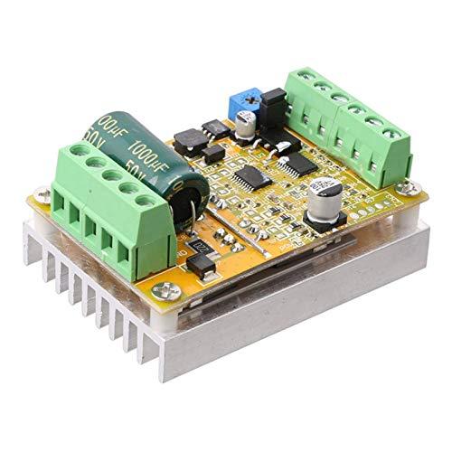 XIAOFANG Fangxia Store 380W 3 Phasen Brushless Motor Controller Board (NO/OHNE Hall Sensor) BLDC PWM PLC Driver Board DC 6.5-50V