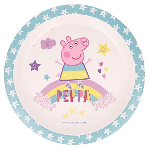 PLATO BAMBU PEPPA PIG MAGICAL