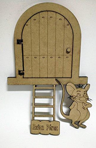 Kit puerta de madera DM Ratón Pérez