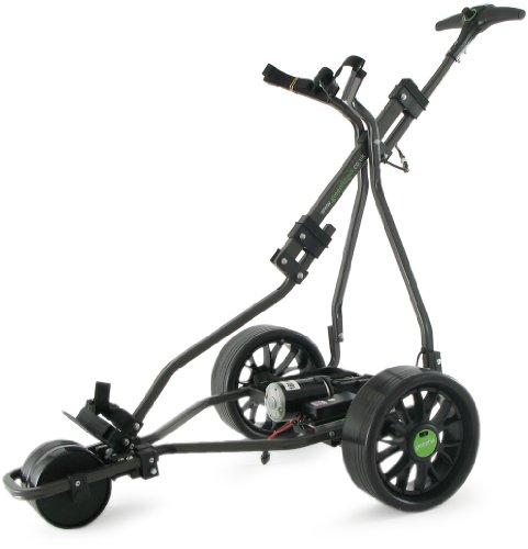 GreenHill - Elektro-Golfcarts in schwarz - graphit, Größe 36 hole battery