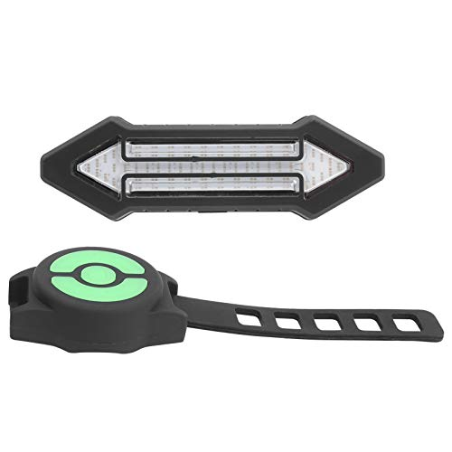 Pwshymi Controlador inalámbrico USB Luz Trasera de Bicicleta Luz de Bicicleta Operatel fácilmente con Control Remoto inalámbrico 4.3 x 1.4 x 1 in, para Cochecito, Jogging