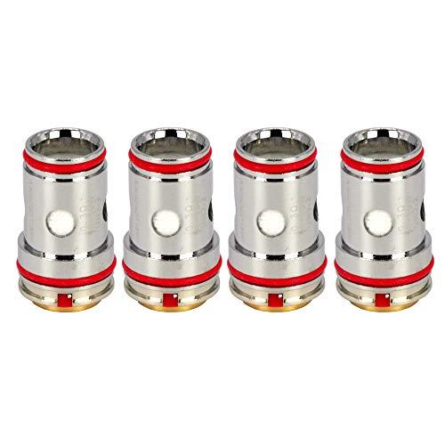 Uwell UN2-2 Mesh Coils (0,3 Ohm), Crown 5 DL Verdampferköpfe für e-Zigarette, 4 Stück