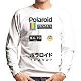 Polaroid SX70 Logo Badges Men's Sweatshirt