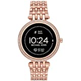 Michael Kors Women's Darci Gen5e Stainless Steel Touchscreen Smartwatch , Color: Rose Gold (Model: MKT5128)