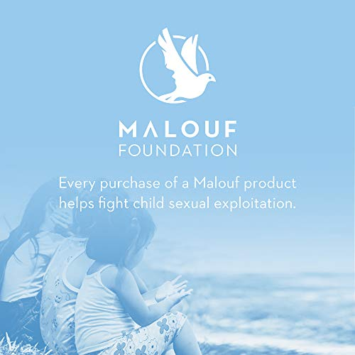 MALOUF Gel Infused Dough Memory Foam Contour Pillow with Liquid Z Gel Packet - 5 Year Warranty - Queen