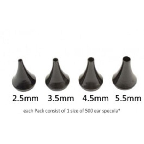 Keeler 1501-p-5197 eenmalig trechter, 2,5 mm grootte (500 stuks)