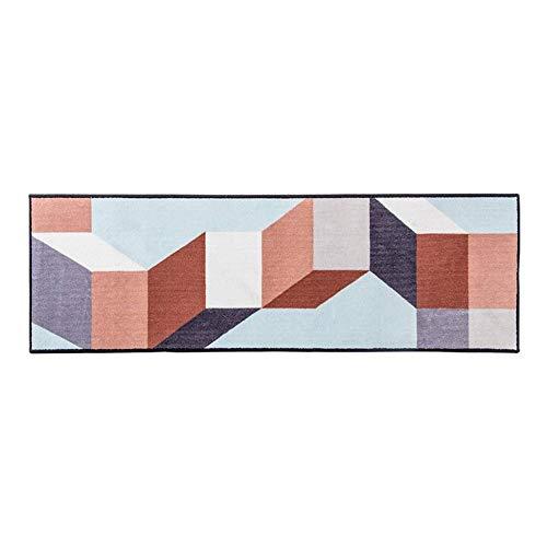 tapijt geometrisch patroon tapijt rechthoekig antislip woonkamer deurmat bank slaapkamer lange bed deken