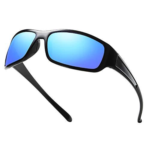 aoory Polarisierte Sportbrille Sonnenbrille Fahrradbrille Mit Uv400 Schutz Für Herren Autofahren Laufen Radfahren Angeln Golf Tr90