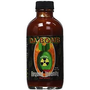 Americanspice Da Bomb Beyond Insanity Hot Sauce, Bottle, 4 Fl Oz:Greatestmixtapes