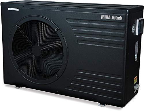 Midas Wärmepumpe für Pools Mida Black 8, 30 m3, 7,8 kW, 220 V, Code 2900