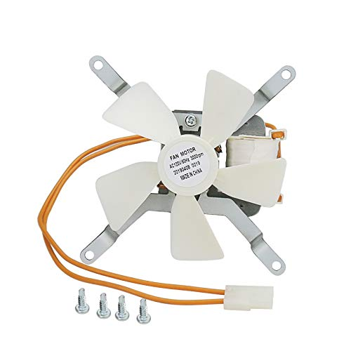 Hisencn Grill Inducer Induction Fan Kit Replacement Parts for All Pit Boss & Traeger & Camp Chef Wood Pellet Grills, Sam's Club Pellet Grills, Combustion Fan