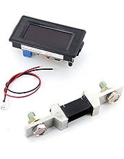 200 A ampèremeter met shunt 3 2/1 digitaal display LED rood ampèremeter AC/DC 12 V - 260 V