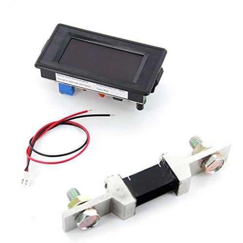 200a Amperemeter Mit Shunt 3 1.2 Digitalanzeige LED Rot Panel Amp Amperemeter AC / DC 12 V - 260 V