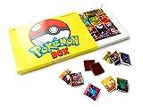 Pokemon Box Big Chocolate Gift Set, 24 Pieces, 10x7in, 1 Box (Yellow)