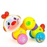 Lihgfw Fehler 20 * 10,5 cm Kleinkind pädagogisches Spielzeug Kunststoff-Spielzeug können 0-4 Jahre Alten Kinder Spielzeug als Geschenk verwendet Werden, kriechen