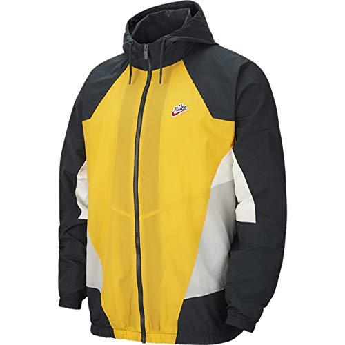 Nike Herren Sportswear Heritage Windrunner Jacke Gold M