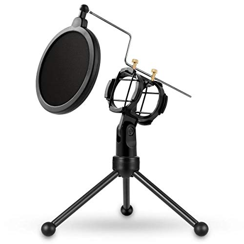 Microfoon Stand USB Professionele Home Studio Condenser Microfoon voor Live Broadcast Podcast Opname PC Laptop voor Windows Microfoon Mount Stand Microfoon Suspension