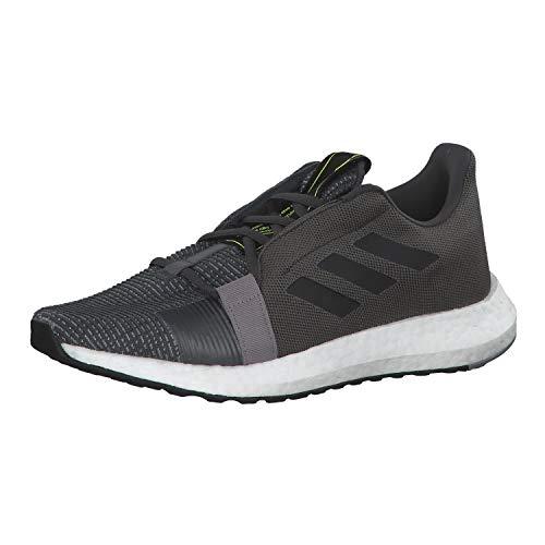 Adidas SenseBOOST GO m, Zapatillas de Trail Running Hombre, Multicolor (Grisei/Negbás/Amasol 000), 40 2/3 EU