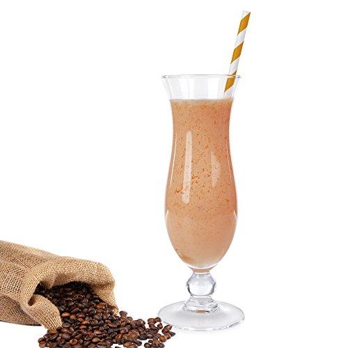 Kaffee Molkepulver Luxofit mit L-Carnitin Protein angereichert Aspartamfreier Wellnessdrink (333 g)